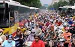 Không tăng phí đường bộ với xe máy