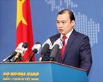 Yêu cầu Trung Quốc chấm dứt cải tạo phi pháp trên bãi Chữ Thập