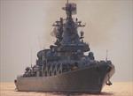Tàu chiến Nga tập trận bắn đạn thật trên Biển Đông
