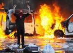 Biểu tình tại Brussels biến thành bạo lực