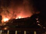 Gia Lai: Cháy lớn thiêu rụi nhà và xưởng ô tô