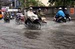 Mưa lớn nhấn chìm thành phố Bạc Liêu
