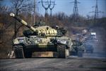 Xe quân sự rầm rập tiến về Donetsk
