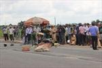 Xe ô tô đầu kéo tông xe máy, 2 vợ chồng chết tại chỗ