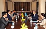 Thủ tướng Nguyễn Tấn Dũng gặp Tổng Thư ký Liên hợp quốc