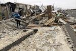 Donetsk ở miền Đông Ukraine bị nã pháo