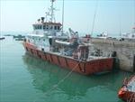 Tàu QNG 94780 bị nạn cùng 10 thuyền viên cập bờ Quy Nhơn