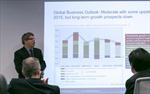 Kinh tế toàn cầu có thể tăng trưởng 3,4% năm 2015