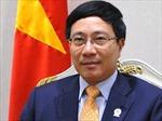 Phó Thủ tướng Phạm Bình Minh trả lời phỏng vấn về kết quả Hội nghị Cấp cao ASEAN-25