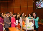 Công bố kết quả lấy phiếu tín nhiệm tại Quốc hội