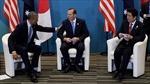Mỹ, Australia, Nhật kêu gọi giải quyết hòa bình tranh chấp trên biển