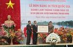 Đảo Cò đón Bằng công nhận di tích danh thắng quốc gia