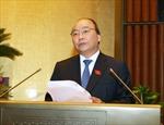 Báo cáo việc thực hiện các Nghị quyết Quốc hội về chất vấn