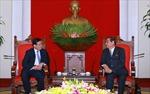 Đồng chí Lê Hồng Anh tiếp Chủ tịch Tập đoàn Kumho Asiana