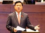 Bộ trưởng Bộ GTVT tiếp tục trả lời chất vấn Quốc hội