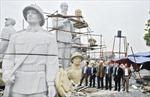 Đón tượng Bác Hồ với nhân dân các dân tộc tỉnh Tuyên Quang
