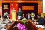 Đại tướng Trần Đại Quang làm việc tại tỉnh Yên Bái