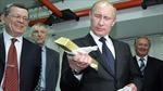 Khi nước Nga gia tăng dự trữ vàng