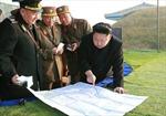 Ông Kim Jong-un chỉ đạo tập trận quy mô lớn