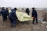 Hoàn tất di dời xác máy bay MH17 khỏi miền Đông Ukraine