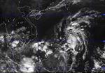 Áp thấp nhiệt đới đang vào Biển Đông
