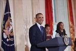 Tạm gác chính trường, Tổng thống Mỹ tha mạng gà tây