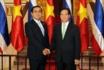 Thủ tướng Nguyễn Tấn Dũng hội đàm với Thủ tướng Thái Lan