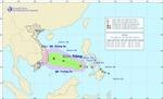 Áp thấp nhiệt đới trên Biển Đông gây gió mạnh cấp 9