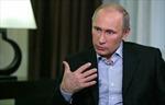 Đông Đức coi Tổng thống Putin là 'anh hùng mọi thời đại'