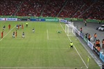 Một số hình ảnh trong trận cầu Singapore - Malaysia