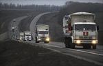 Đoàn xe cứu trợ nhân đạo của Nga đến Lugansk