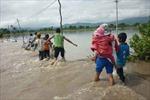 Tin lũ trên các sông từ Quảng Trị đến Bình Định