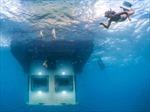 Khách sạn chìm trong biển sâu ở lục địa Đen