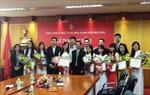 20 sinh viên xuất sắc nhận học bổng Nâng bước tài năng trẻ của SCIC
