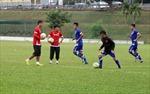 Đội tuyển Việt Nam tập buổi đầu tiên tại Malaysia
