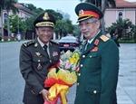 Thượng tướng Nguyễn Chí Vịnh tiếp Quốc vụ khanh Bộ Quốc phòng Campuchia