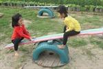 Sân chơi cho trẻ từ vật liệu tái chế