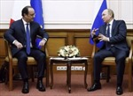 Tin thêm về cuộc gặp giữa Tổng thống Nga và Tổng thống Pháp