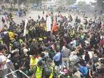 Giải tán biểu tình ở Hong Kong chậm hơn dự kiến