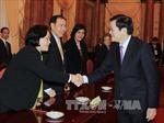 Chủ tịch nước tiếp đại biểu dự Hội nghị bàn tròn Chánh án ASEAN