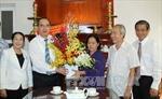 Đồng chí Nguyễn Thiện Nhân thăm cán bộ và gia đình chính sách tại TP Hồ Chí Minh