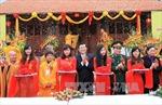 Chủ tịch nước dự lễ khánh thành chùa Phật tích Trúc Lâm Bản Giốc