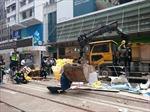 Hong Kong giải tán điểm biểu tình cuối cùng