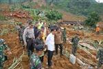 46 người chết do lở đất ở Indonesia
