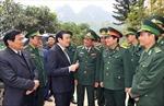 Chủ tịch nước thăm, chúc Tết đồn biên phòng Đàm Thủy