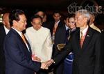 Thủ tướng Nguyễn Tấn Dũng tới thủ đô Bangkok