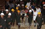 Chủ tịch nước tặng quà lực lượng cứu hộ vụ sập hầm