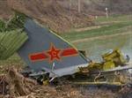 Rơi máy bay quân sự Trung Quốc, ít nhất 2 người thiệt mạng
