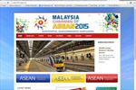 Malaysia cho ra mắt website ASEAN 2015