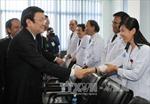 Chủ tịch nước tiếp tục các hoạt động tại Campuchia